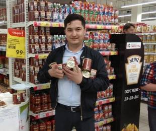 Customers of «Karusel» hypermarkets appreciated the taste of real beef